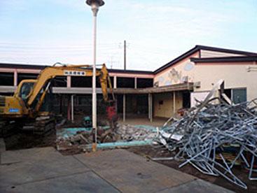 解体は住宅の清掃です!